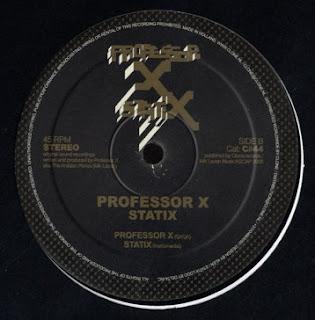 Professor X - Statix [12'' Vinyl 2006]