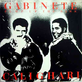 Gabinete Calighari - Pump Up The Bass [12'' Vinyl Single]