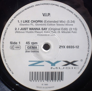 V.I.P. - I Like Chopin [12'' Vinyl 1993]