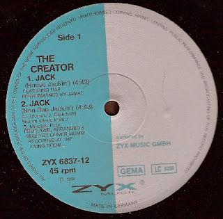 The Creator - Jack [12'' Vinyl 1992]