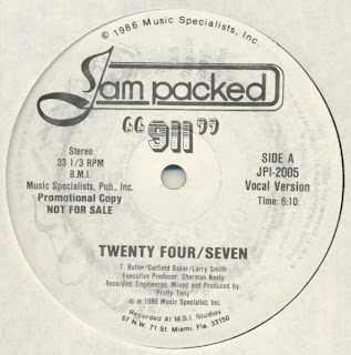 911 - Twenty Four Seven [12'' Vinyl Jam Packed 1986]
