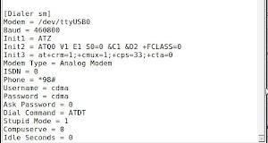 Setting Haier D1200P di Ubuntu 10.04
