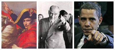 Napolyon, Atatürk, Obama