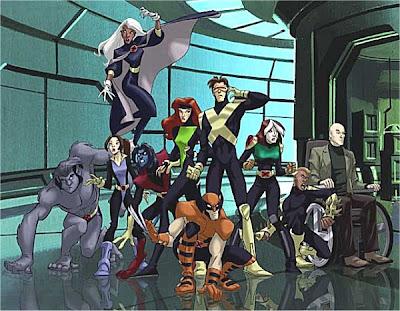 desene X-Men Evolutie poster
