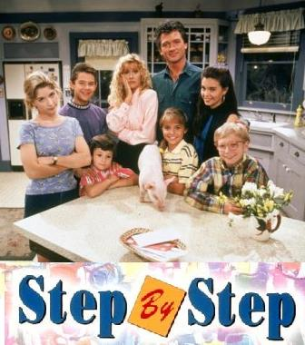 cine y tv step by step 1994 1995 comedia season four serie dvd. Black Bedroom Furniture Sets. Home Design Ideas