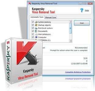 Download Kaspersky Virus Removal Tool 2010