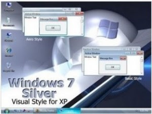 Windows 7 Silver Style XP