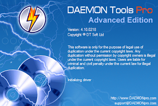 Daemon Tools Pro 4.10