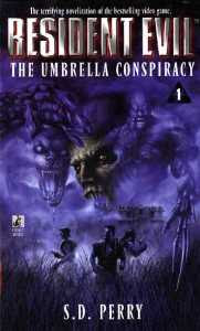 Livro Resident Evil: The Umbrella Conspiracy