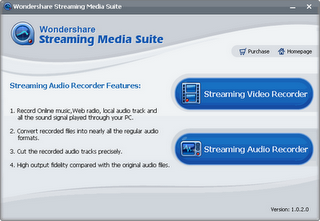 Wondershare Streaming Media Suite 1.0.4.9
