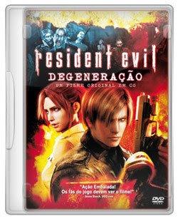 Resident Evil Degeneração - DVDRip - Dublado
