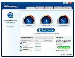 SpeedUpMyPC 2009 Final + Serial