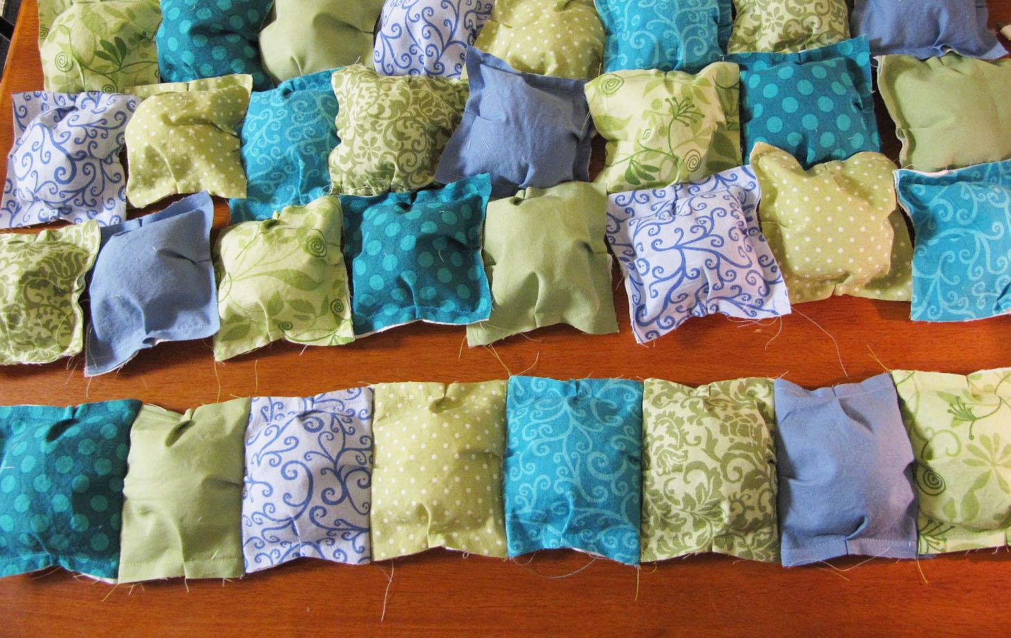Шьем лоскутное одеяло своими руками 57