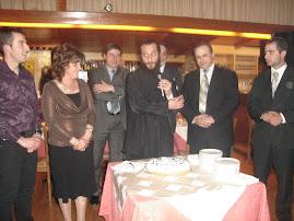 H κοπή της πρωτοχρονιάτικης πίτας από τον Σύλλογο Βλαχερναίων Τρίπολης