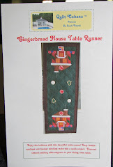 Gingerbread House Table Runner
