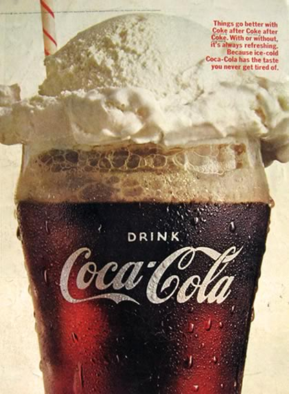 coke float vintage