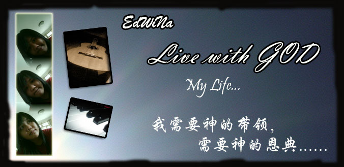 EdWiNa - Live with GOD