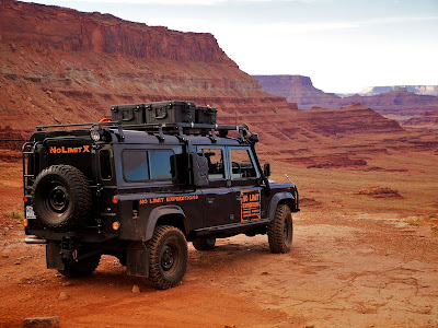 Land Rover National Rally  2010 - Deserto do Moab