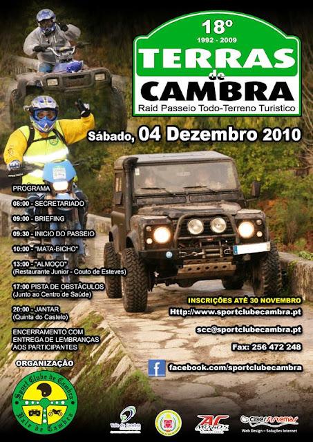 18º Raid Passeio Todo-o-terreno Turístico Terras de Cambra 2010