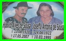 HIPÓLITO ALVES DE SOUZA E JOSEFFA ANTÔNIA DE SOUZA