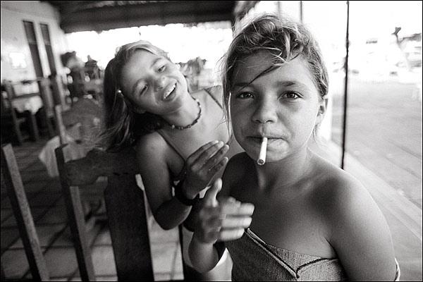 jovencitas de la calle: