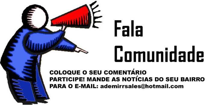 FALA COMUNIDADE