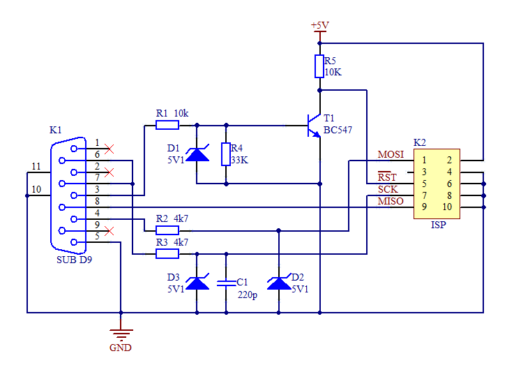 Simple AVR Programmer.