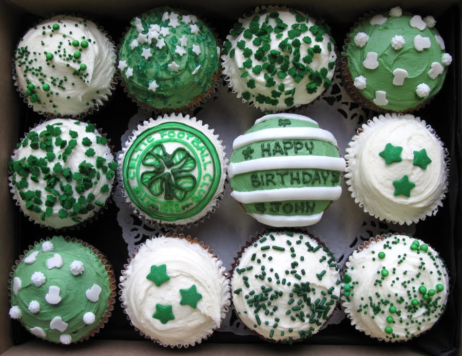 Celtic cupcakes Crumbs Doilies News
