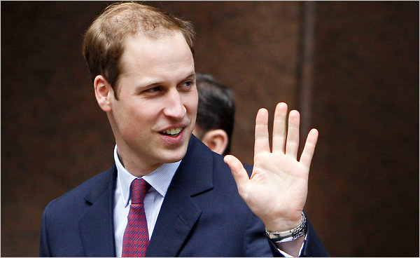 prince william crown. prince william bald patch.