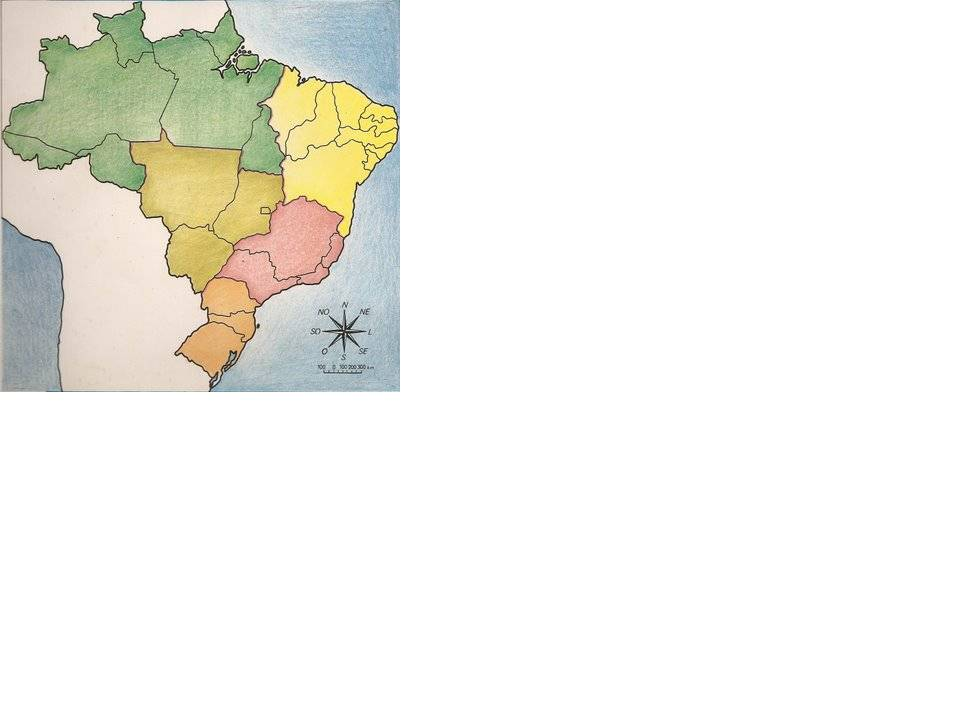 mapa do brasil. mapa do rasil com capitais.