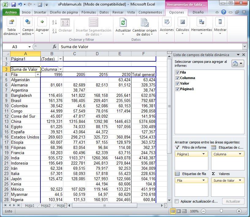 ExcelAvanzado.com: Tablas Dinámicas con Rangos de Consolidación ...