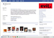 All About Evil Facebook group