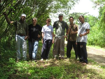 Tinian Hikers-Hike to Lion's Head (Tinian)