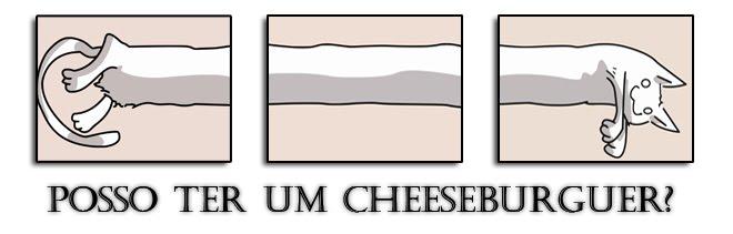 posso ter um cheeseburguer?