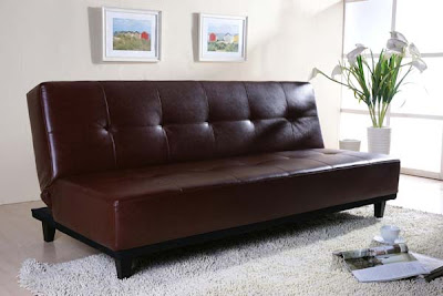 Picoult Sofa Bed in Brown from Furniture 123