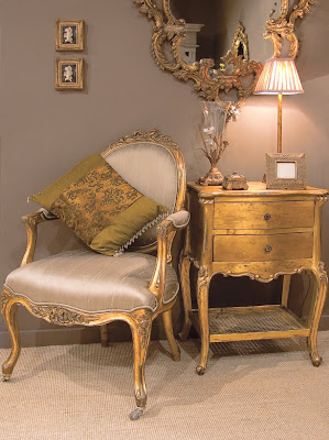 Florentine Gold Hall Set