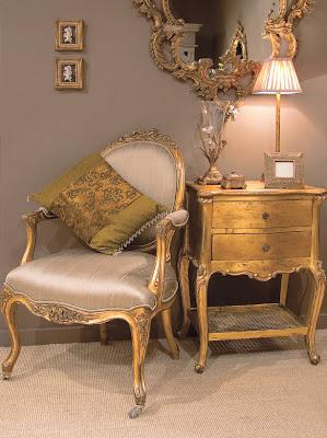 Florentine Gold Hall Set
