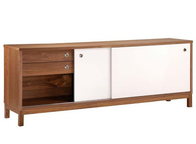 Marlo Walnut 2 Door Sideboard from Furniture123