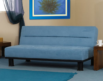Dansville 3 Seater Futon in Blue from furniture123