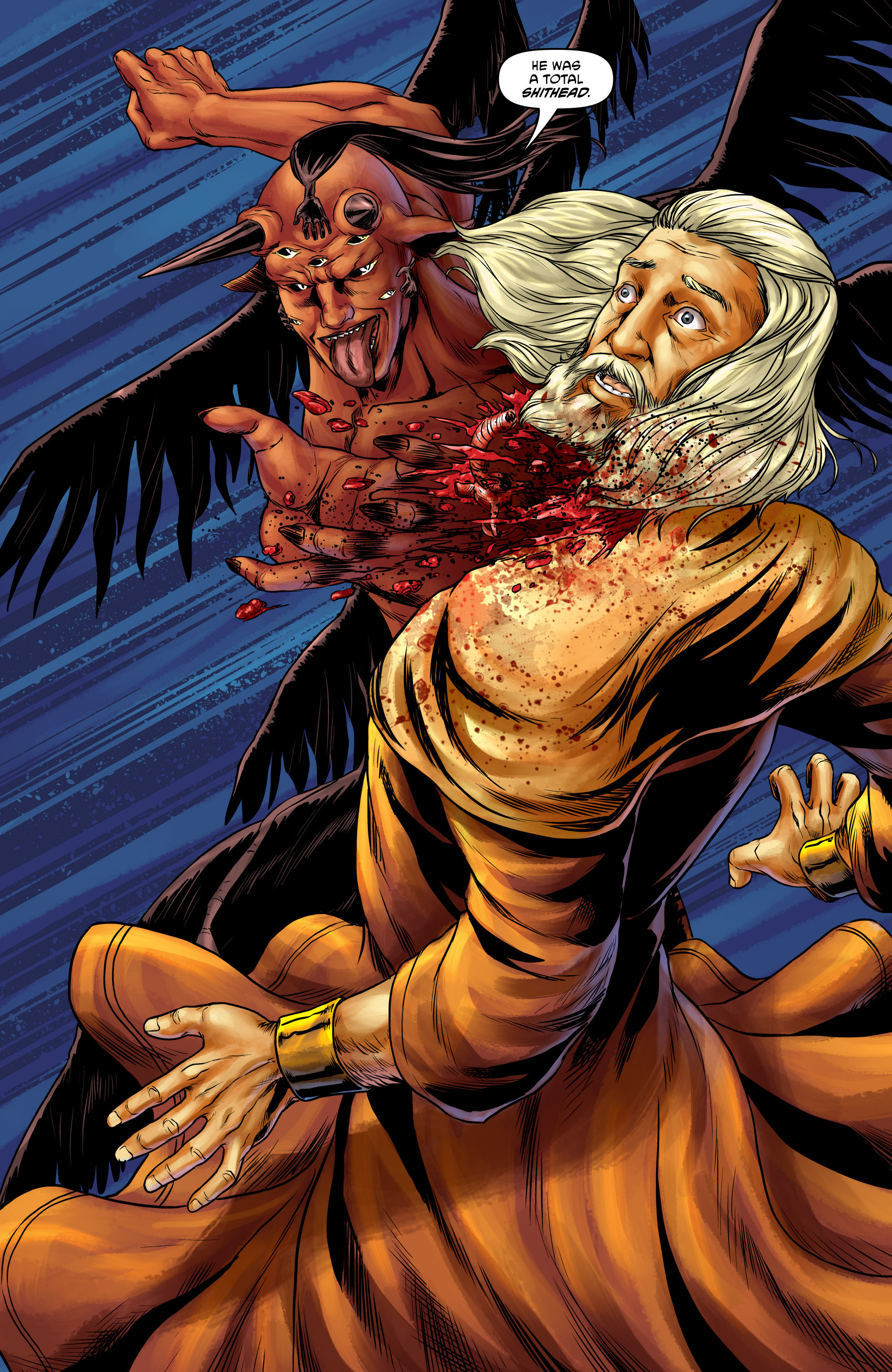 Read online God Is Dead comic -  Issue #47 - 8