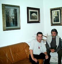 """Con mi amigo Juan Martinez Pozo en """"Tinto y Tinta"""""""