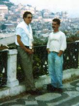 Con mi amigo Agustin Lara Carrillo de Albornoz en Lisboa