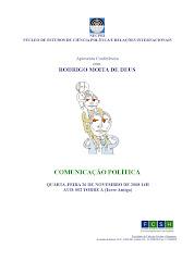 Conferência NECPRI: COMUNICAÇÃO POLÍTICA - Rodrigo Moita de Deus