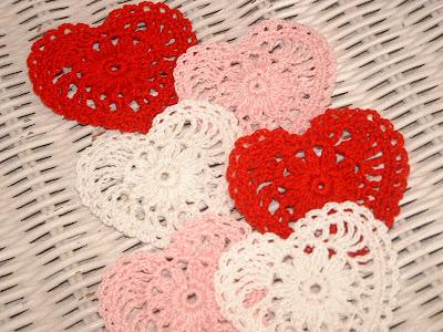 Crochet Patterns Valentines Day : Lindys Crochet Corner: Valentines Day Crochet