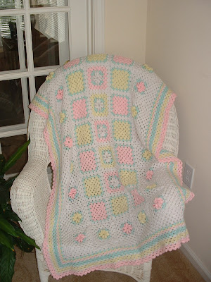 Free Crochet Pattern Bevs Preemie Coverlet - Crocheting Patterns
