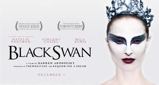 Black Swan. However, at the end of the movie, we can see that even though we