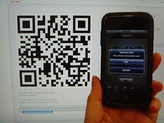 abilitare il cellulare per visualizzare i codici QR
