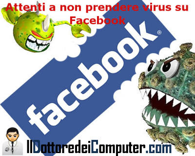 virus presenti in facebook