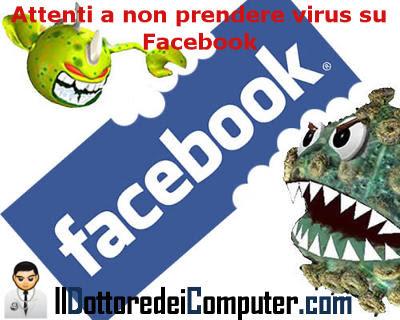 virus presenti in facebook