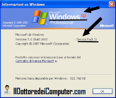 fine supporto windows 2000 xp